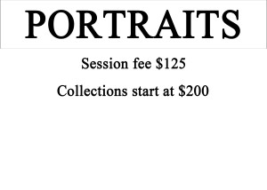 Portraits Pricing