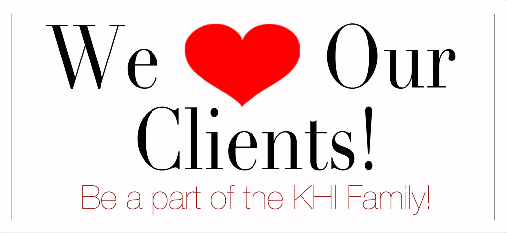We Heart Our Clients - Clients